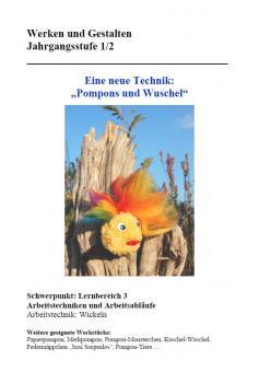 Unterrichtsvorbereitung Pompons/Wuschel