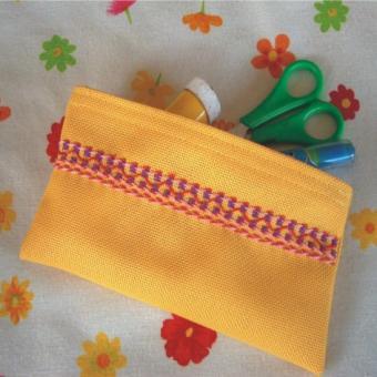 Materialset Stickmäppchen einzeln verpackt